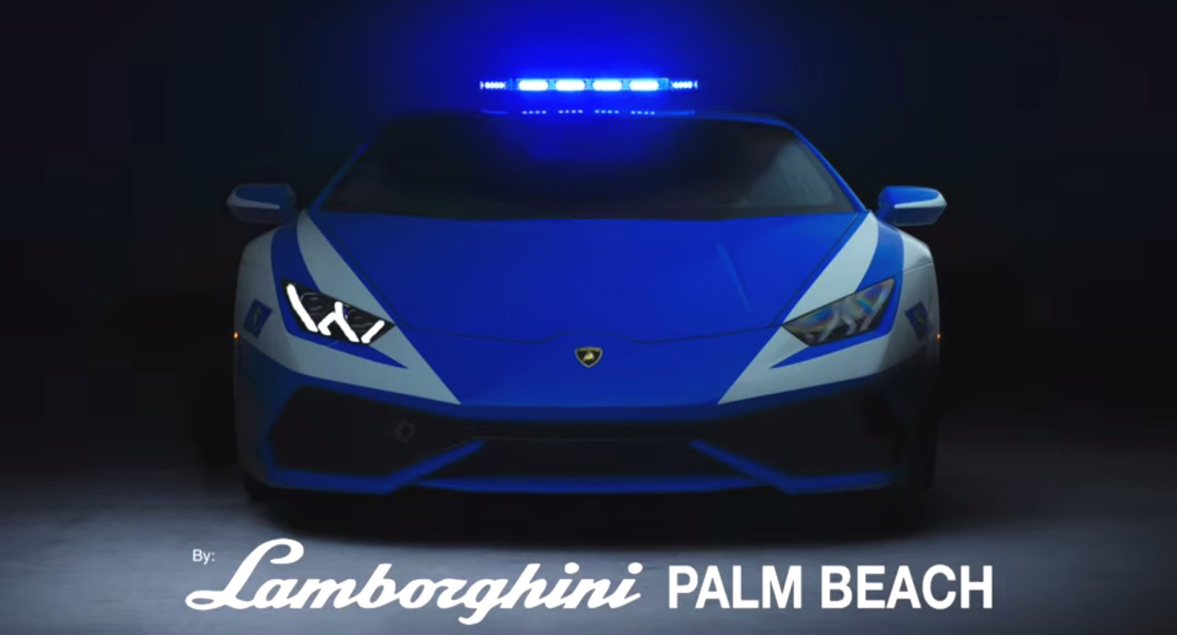 Lamborghini Police Car Is Not Here To Serve And Protect Video Autoevolution
