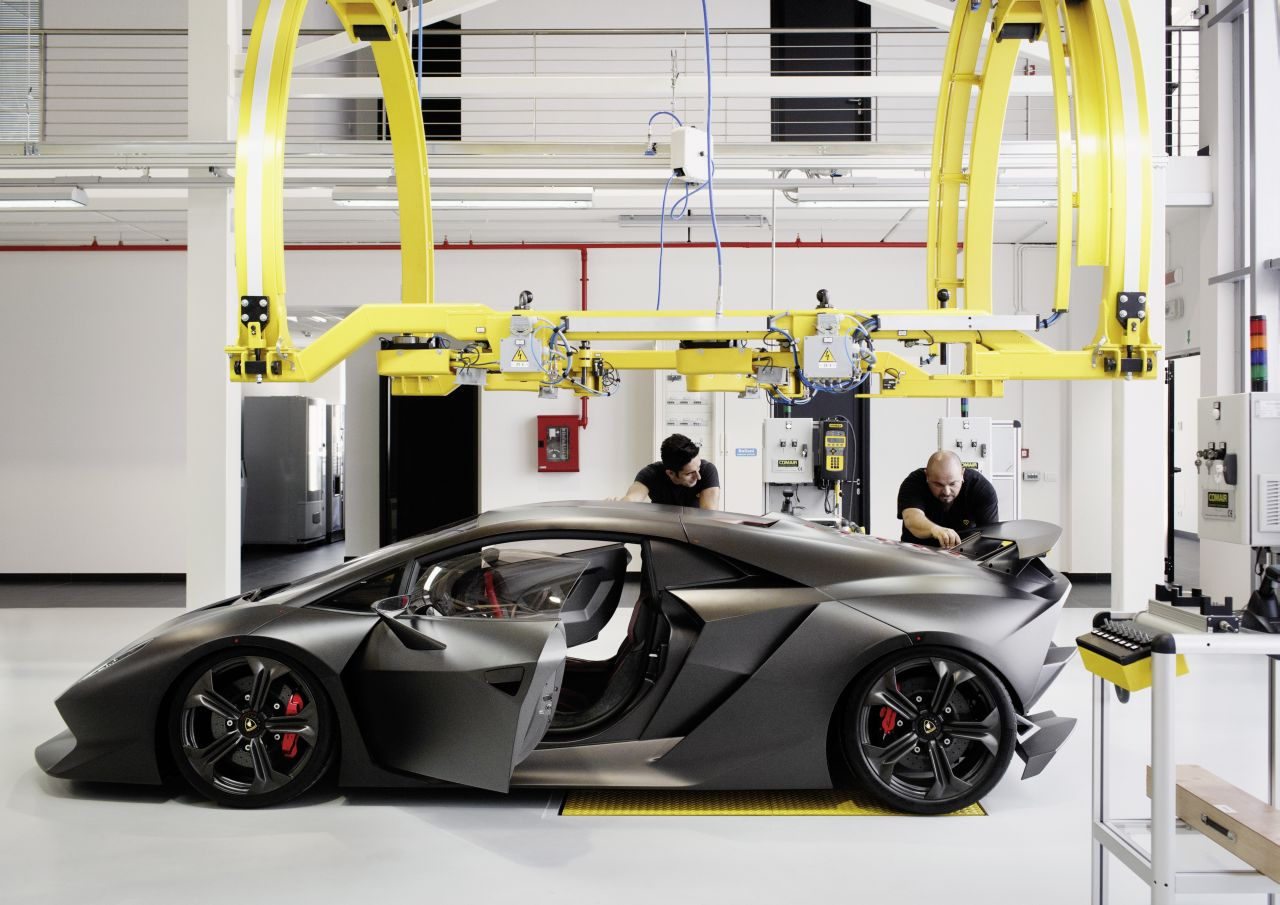 Lamborghini Sesto Elemento Production Detailed Autoevolution