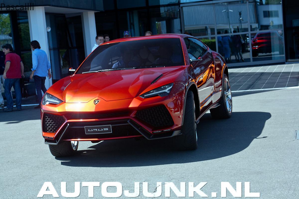 Lamborghini Showing Off Urus Concept at Italian HQ  autoevolution