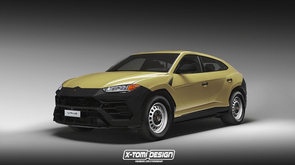 Price Of 2017 Lamborghini >> Lamborghini Urus Base Spec Rendered as $150,000 Bargain - autoevolution