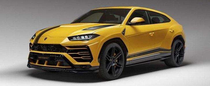 Lamborghini Urus By Manhart Features 800 Plus Horsepower