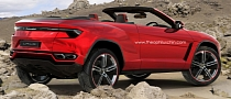 Lamborghini Urus Cabrio: the Topless Bull Rendered