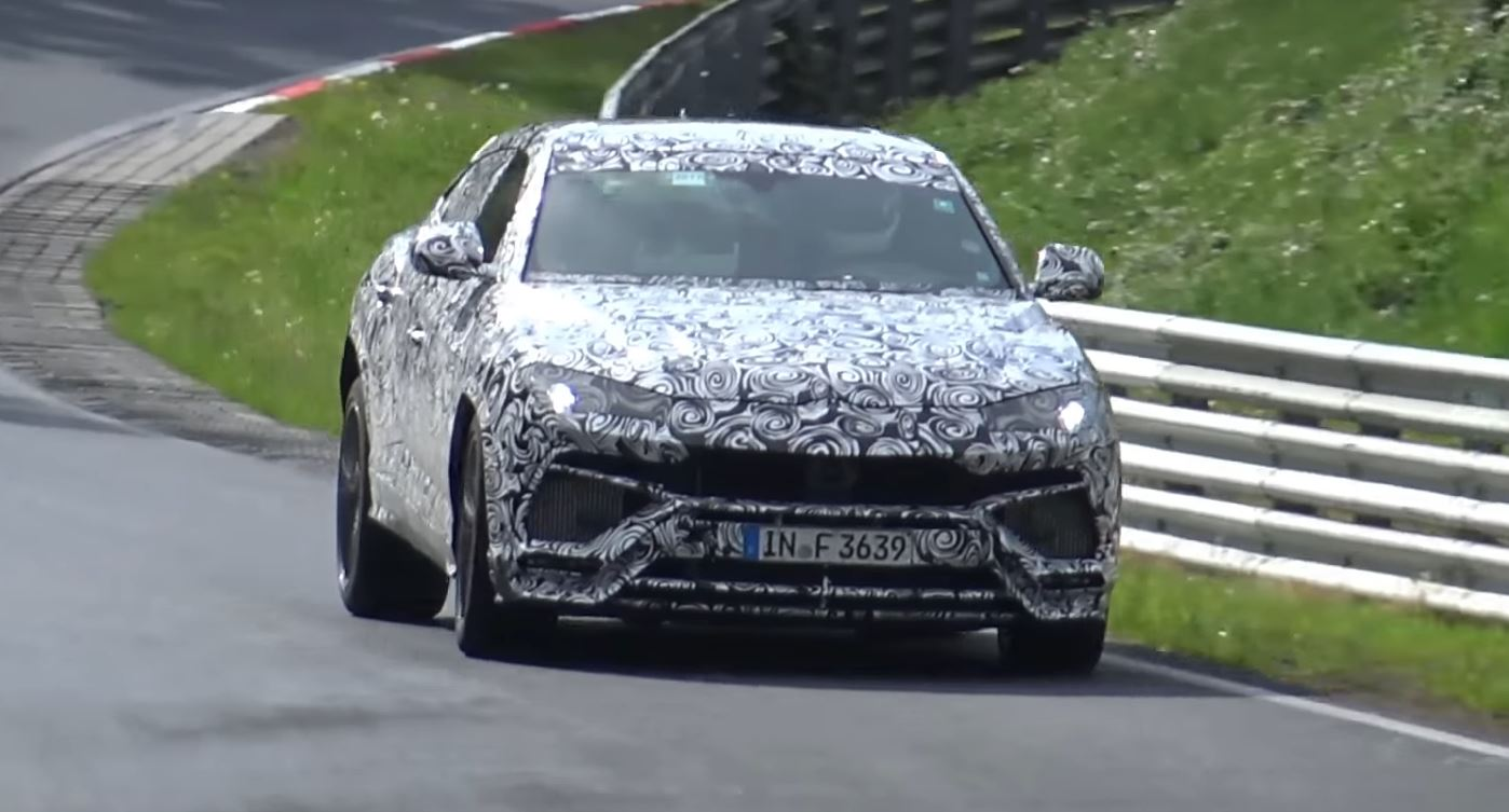 Lamborghini Urus Corners Flatter During Nurburgring Testing