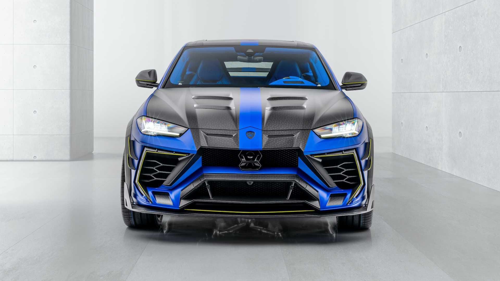 Lamborghini Urus Demonstrates Just How Far Mansory S Madness Can Go Autoevolution