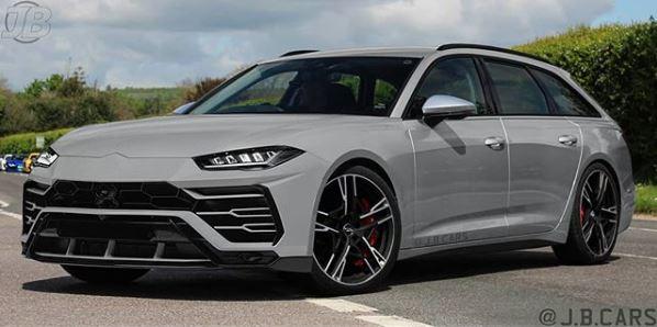 Lamborghini Urus Face Swap for 2020 Audi RS6 Seems Legit