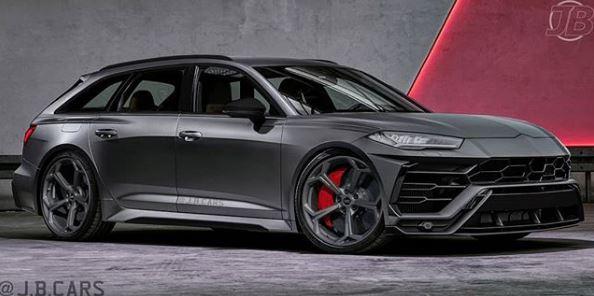 Lamborghini Urus Face Swap for 2020 Audi RS6 Looks Spot On