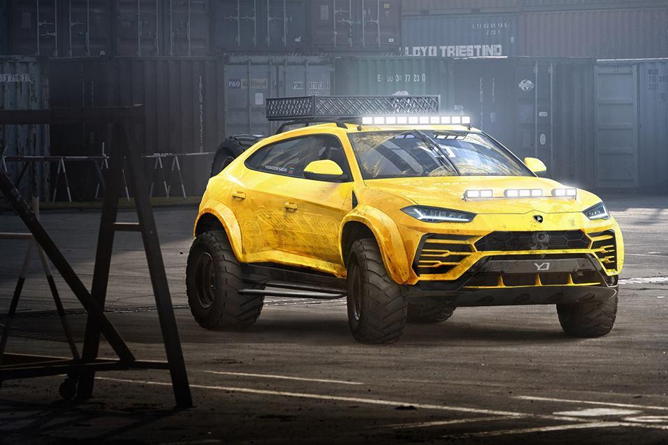 Lamborghini Urus Gets Offroad Package Rendering, Looks More like the ...