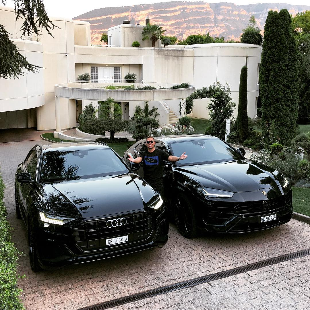 Lamborghini Urus Meets Audi Q8 In Switzerland And Both Are Black