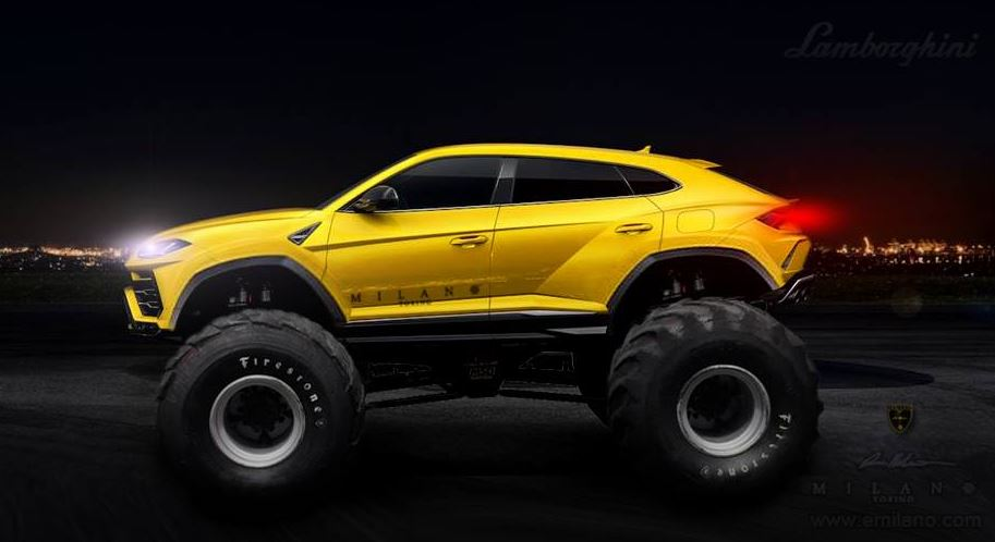Lamborghini unleashes the Urus SUV: a lean, mean, super-speedy machine