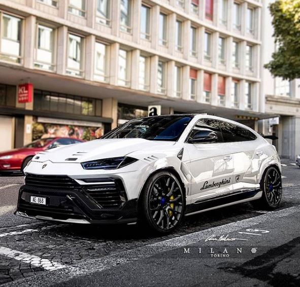 lamborghini urus performante rendered as special edition lamborghini