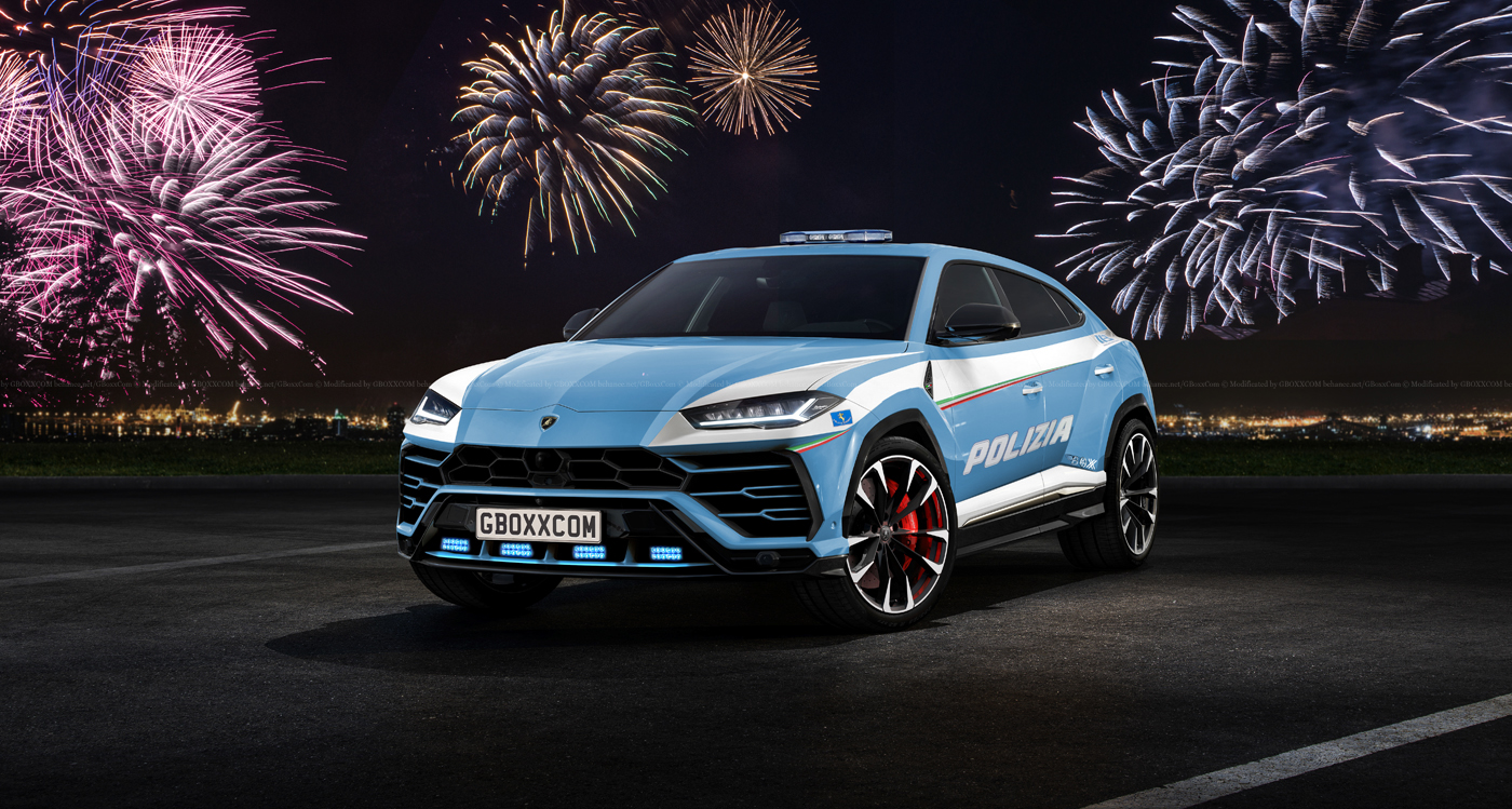 Lamborghini Urus Police Car Looks Really Threatening