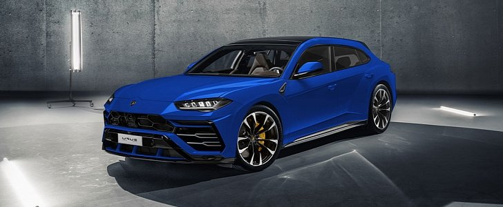 Lamborghini Urus Rendered As Porsche Panamera Sport
