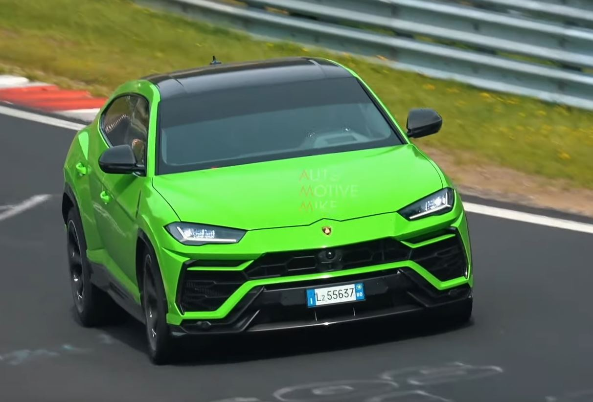 Lamborghini Urus Spied Testing at the Nurburgring Hotter