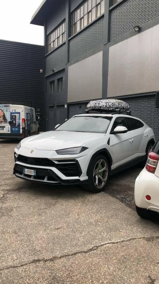 Lamborghini Urus Spied Testing Roof Box As Official Accessory Autoevolution