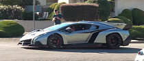 Lamborghini Veneno Driving Footage Is Nifty [Video]