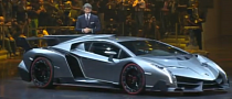 Lamborghini Veneno Officially Powers into Geneva [Video]
