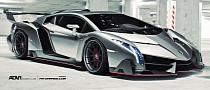 Lamborghini Veneno Rides on ADV.1 Wheels [Virtual Tuning]