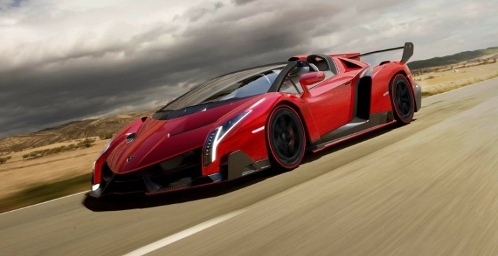 Lamborghini Veneno Roadster Breaks Cover [Photo Gallery]