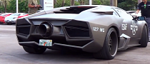 Lamborghini Cosplay: Top Gun Fighter Plane [Video]