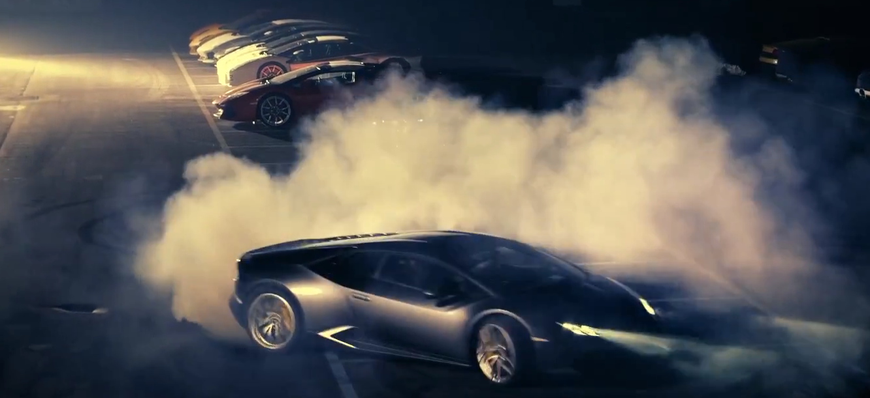 Lamborghini S Huracan Test Drive Shows Exhaust Flames Donuts Autoevolution
