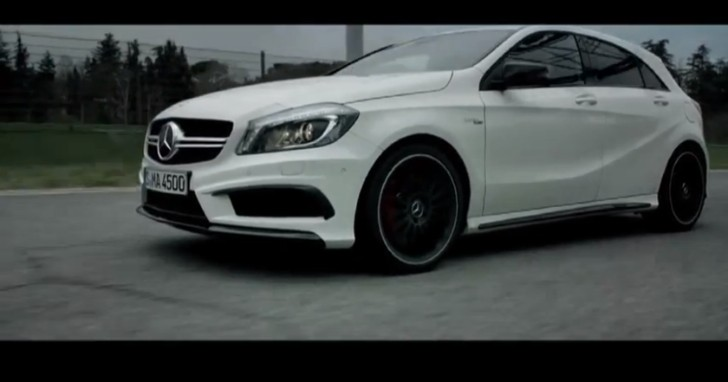 Lance David Arnold Drives the A 45 AMG at Imola [Video]