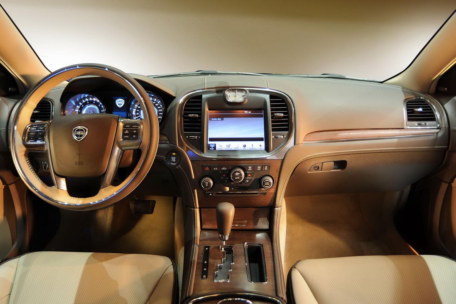 Lancia Releases First Thema Interior Shots - autoevolution