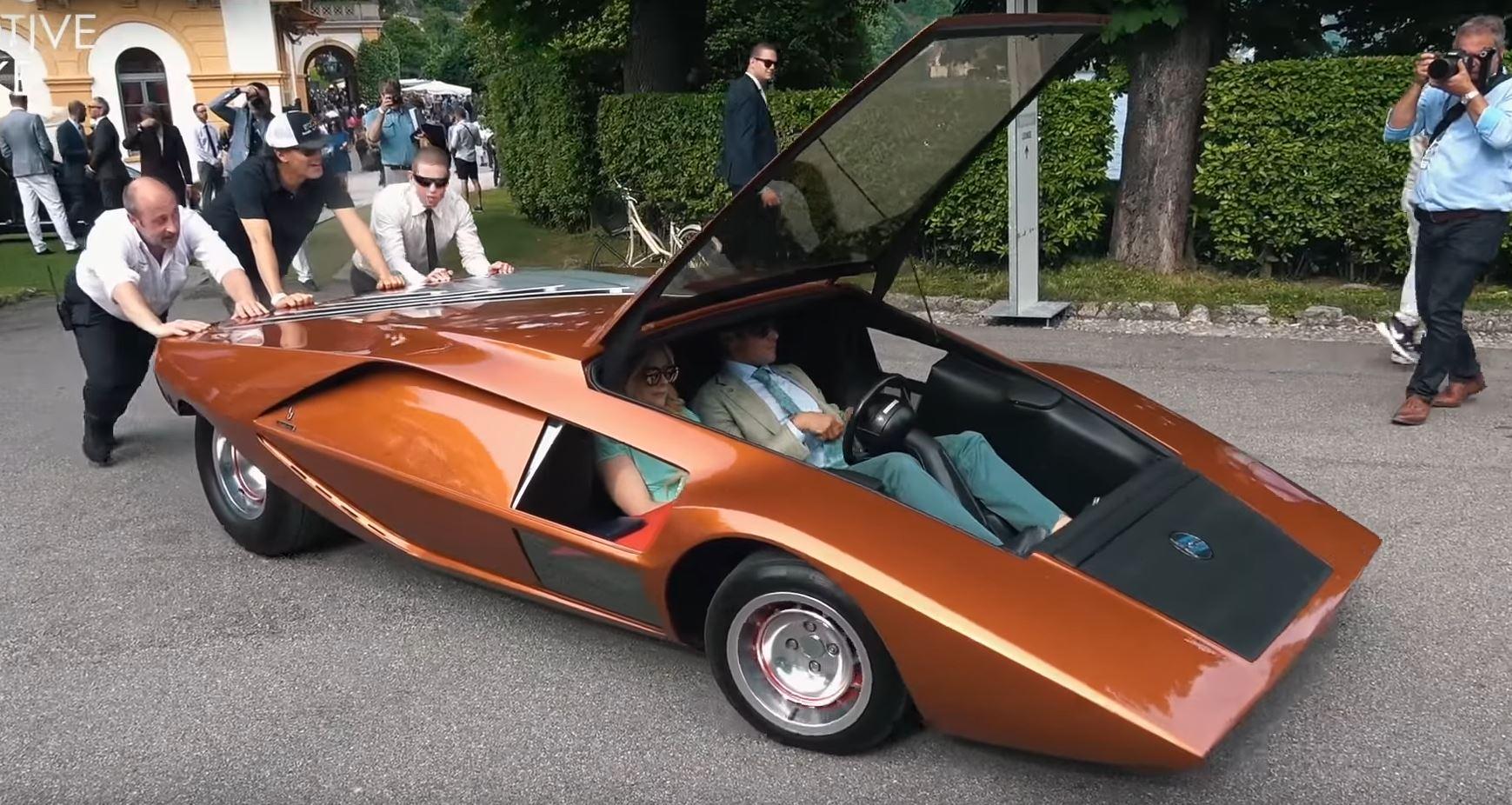 Villa D Este Car Show