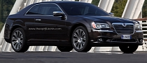 Lancia Thema (Chrysler 300) Coupe Rendering