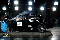 Lancia Thema Euro NCAP crash test