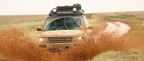 Land Rover Completes World's First Hybrid Expedition Along Silk Trail