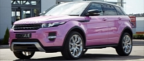 Land Rover Dealer Creates Pink Evoque! [Photo Gallery]
