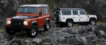 Land Rover Defender Fire and Ice Released