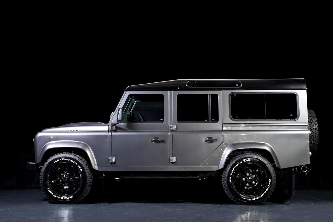 Jeep Performance Engines Land Rover Defender Gets Tricked Out by Urban Truck ...