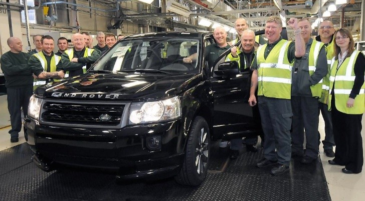 Land Rover Freelander 2 Milestone - 300,000 Produced