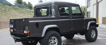 Land Rover Planning Pickup Truck Version of New Defender for 2017