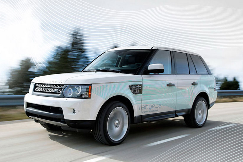 land rover to launch its first diesel hybrid in 2013. Black Bedroom Furniture Sets. Home Design Ideas