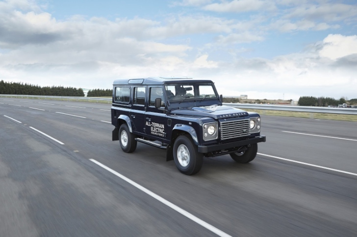 Land Rover to Showcase Electric Defender in Geneva [Photo Gallery]