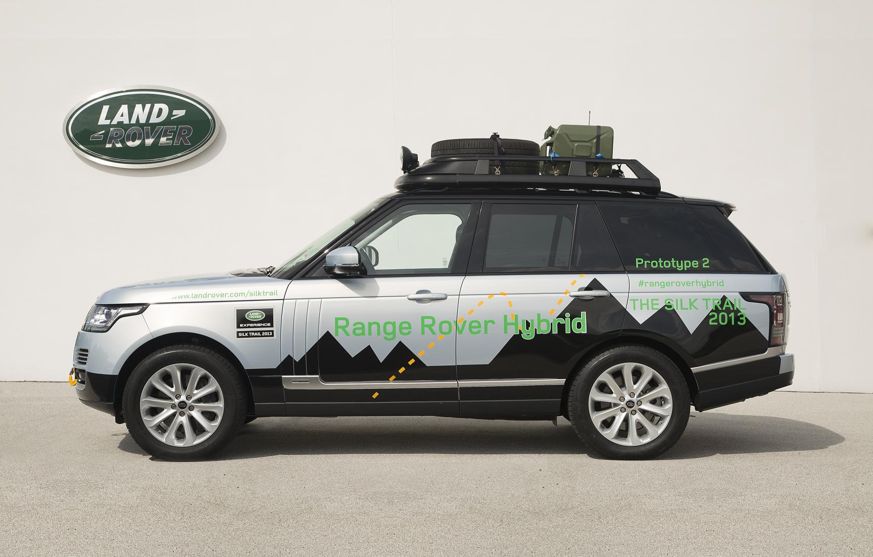 land rover unveils hybrid range rover models autoevolution. Black Bedroom Furniture Sets. Home Design Ideas