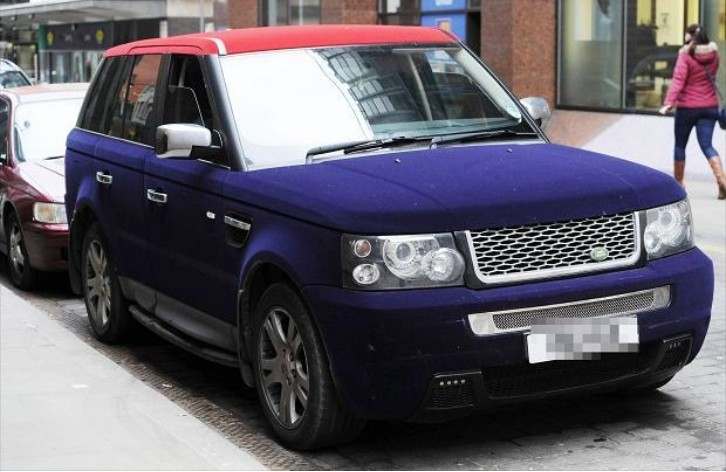 Land Rover S Velvet Wrap Makes You Touch And Hate It At