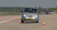 Landwind CV9 moose test