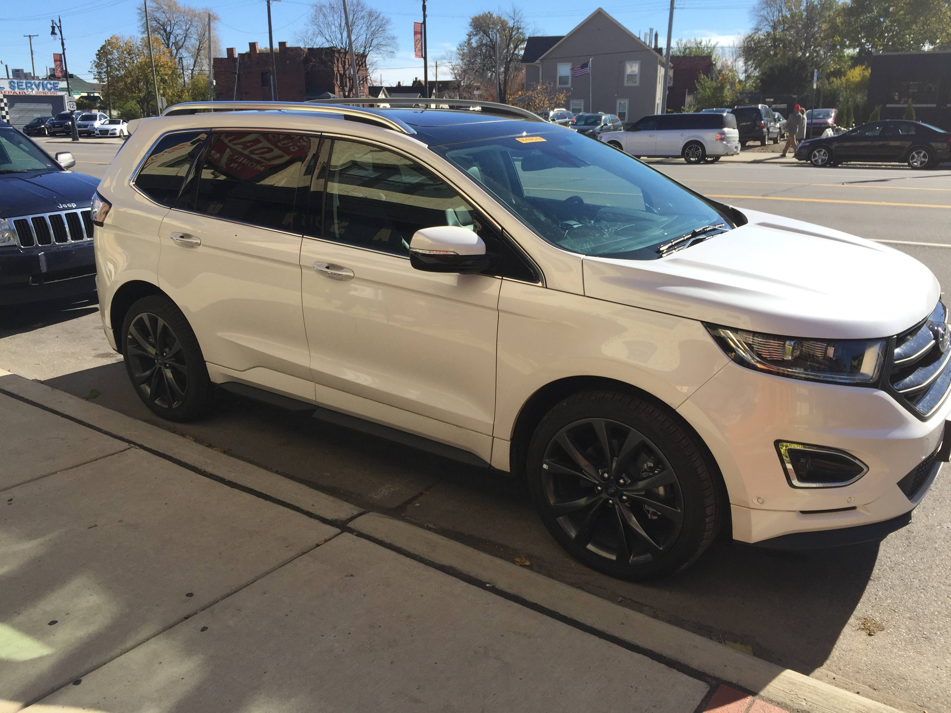larger chinese ford edge spotted in michigan autoevolution. Black Bedroom Furniture Sets. Home Design Ideas