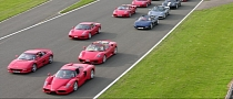 Largest Parade of Ferraris: Over 600 Cars Registered