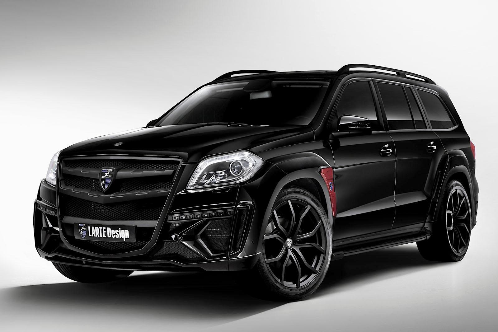 Larte design 39 s mercedes benz gl class has joined the dark for Mercedes benz gl class luxury suv