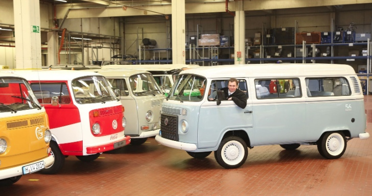 63d087b7ea Last VW Type 2 Kombi Made in Brazil Brought to Hannover Museum ...