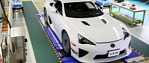 Last Lexus LFA Produced on December 14, 2012