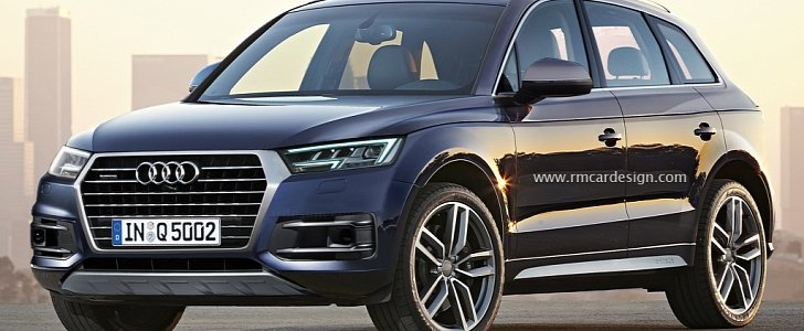 Latest 2017 Audi Q5 Rendering Is The Most Accurate Yet With Hints Of Q7 And A4