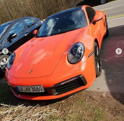 Lava Orange 2020 Porsche 911 Shows Up In the Wild, Looks