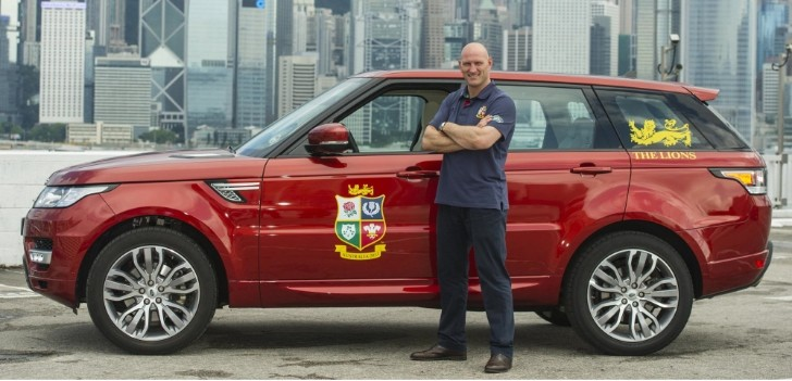 Lawrence Dallaglio Becomes Land Rover Global Ambassador [Video]