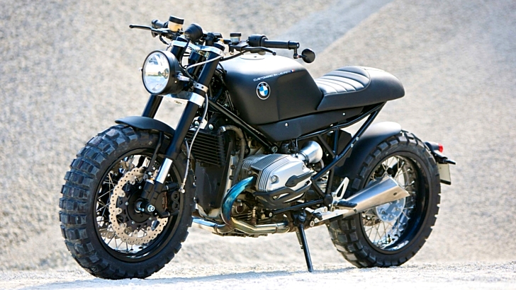 Lazareth Shows the Ultimate BMW R1200R Cafe-Scrambler - Photo ...
