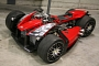 Lazareth Wazuma V8F: Ferrari-Engined Quad [Video]